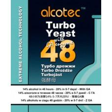 Дрожжи спиртовые Alcotec 48 Turbo Yeast