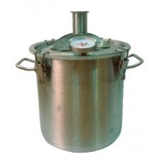 Перегонный куб Брендимастер 17 литров под кламп