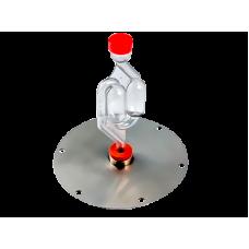 Фланец с гидрозатвором